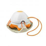 Мини-масажор с луфа подложка оранжев HM 840
