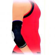 Безшевна плетена ластична ортеза за тенис лакет с мека силиконова опора Variteks 458