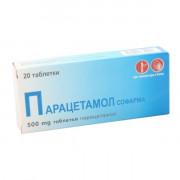 Парацетамол тб. 20*