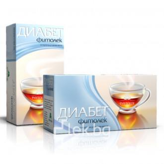 Чай диабет Фитолек - 20 бр
