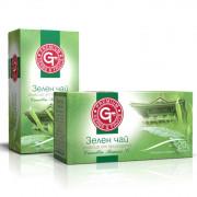 Зелен чай кутия 20 сашета