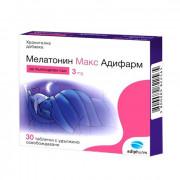 Мелатонин Макс 3 мг.