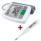 Апарат за кръвно налягане MTS + подарък Ел. термометър FTC - промопакет