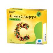 Адифарм Витамин С x 40 табл.