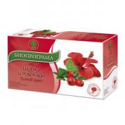 Чай Шипка и каркаде х 20 филтър Premium Хербс