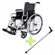 Инвалидна количка Centro S1 OttoBock + Бастун с фиксирана дръжка