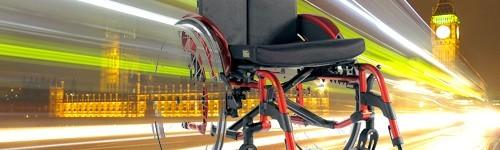 Олекотени инвалидни колички
